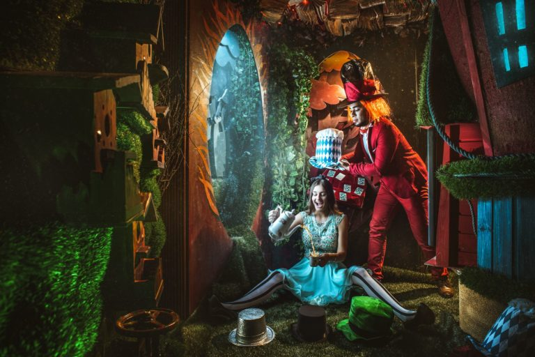 Escape Game in Paris Alice in Wonderland at Phobia Escape Game
