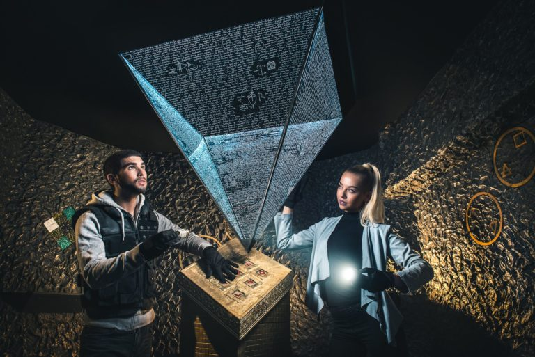 Escape Game in Paris Da Vinci Code at Phobia Escape Game